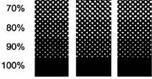 Instruções Metalizado l Exemplo de retícula no papel l Gráfica Cartões Mais Barato