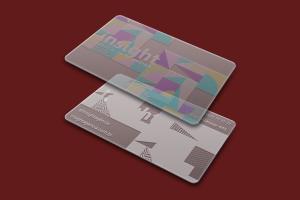 Materia-Prima + Calço Branco l Cartão Transparente+Branco l Gráfica Cartões Mais Barato l Instruções